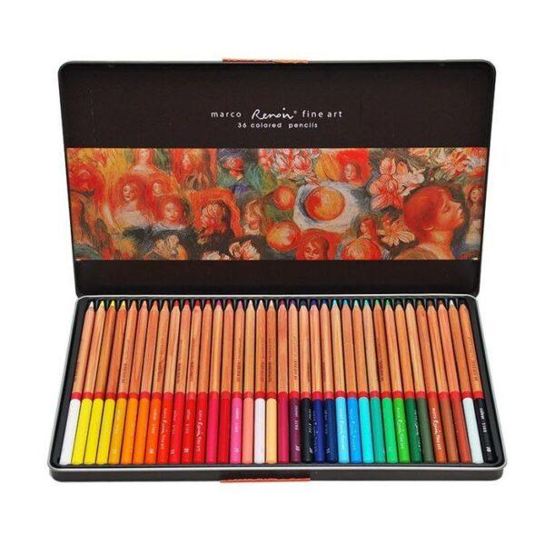 creioane colorate 36 renoir marco