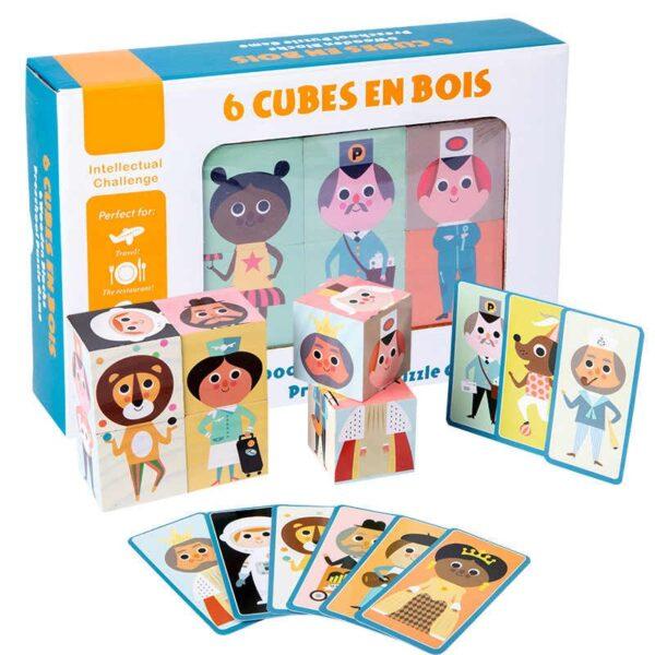 set 6 cuburi