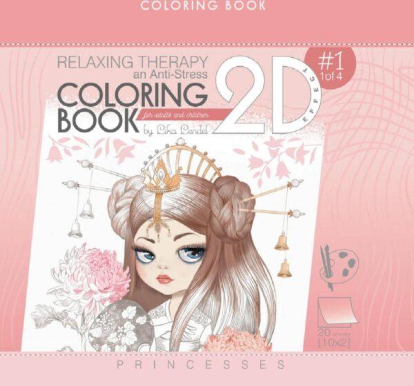 carte de colorat pentru adulti si copii
