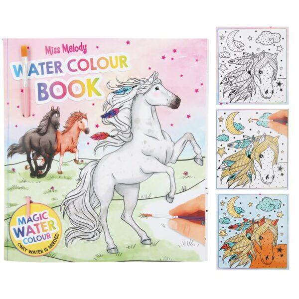 carte de colorat cu apa