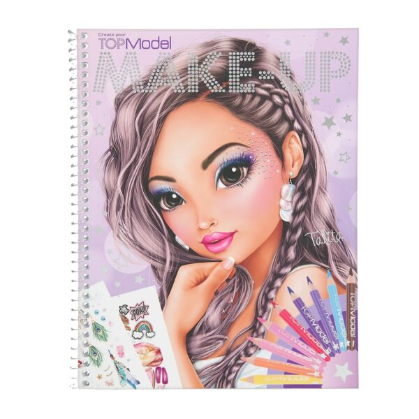carte de colorat make up